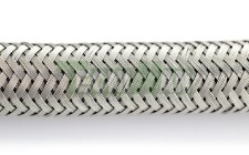 Hose with steel braid