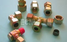 Hydraulic components and fittings