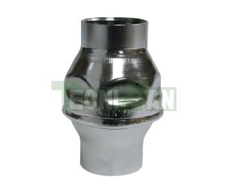 Válvula retención inox. roscas hembra SS304