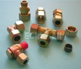 Racores DIN 2535 para tubo hidráulico