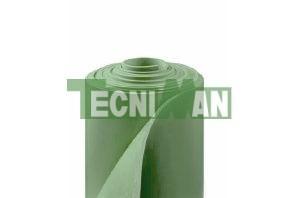 Plancha de caucho antiabrasivo verde