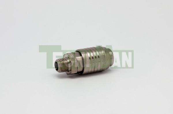 Enchufes neumática rápidos (conexiones rápidas según norma ISO 6150 B-12)