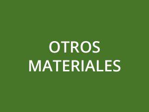 Otros materiales